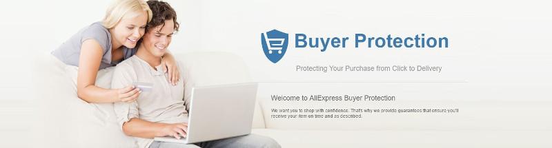Avis AliExpress - protection des acheteurs