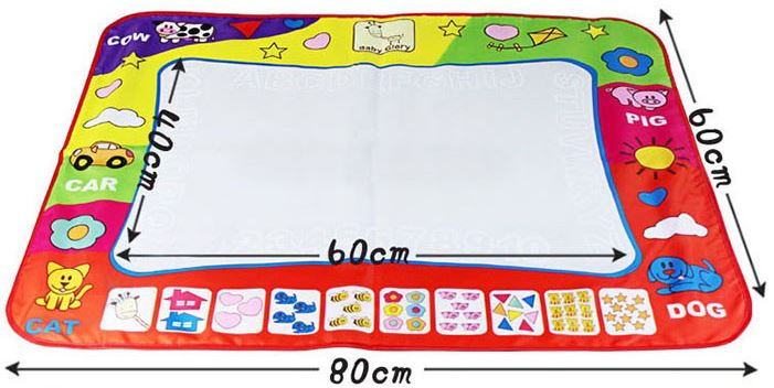 tapis de dessin eau aqua doodle