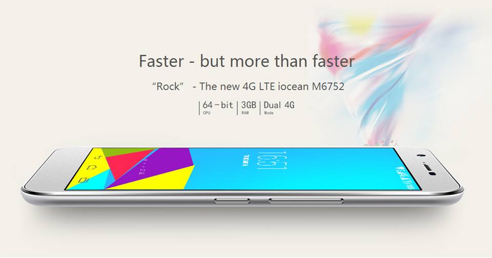 Chinoise mobile M6752-4g-iocean