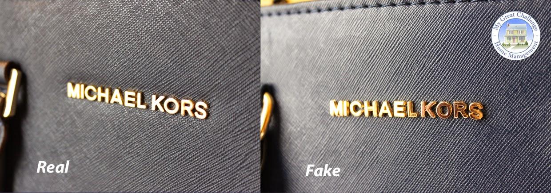 6758b571e7 Comme pour le logo lui-même, le vrai est fait de lettres plates,  parfaitement alignés et légèrement enfoncés dans le cuir tandis que pour  les faux, ...