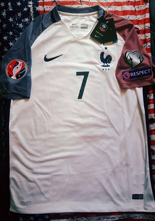 maillot foot griezmann face avant aliexpress