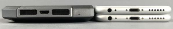oukitel k10000 epaisseur comparé 2 iphone 6