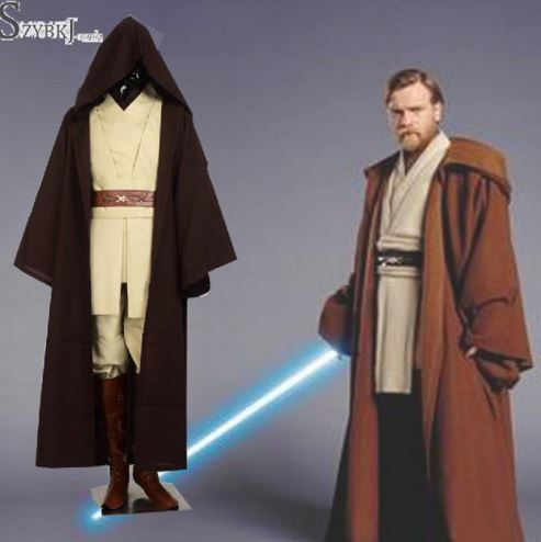 aliexpress star wars cosplay obiwan