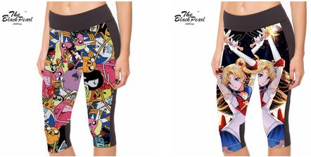 leggings coupés sailor moon