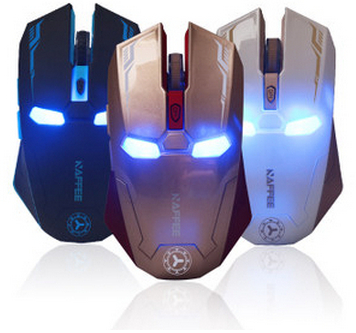 souris iron man aliexpress