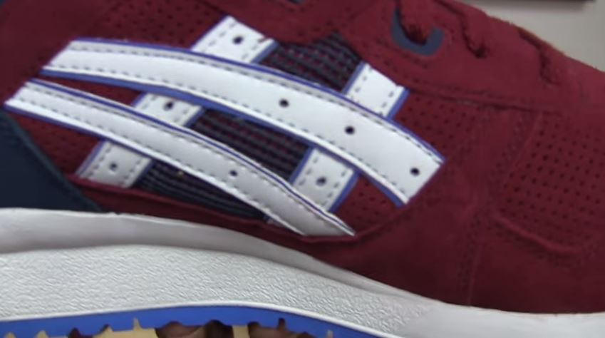 croix authentique asics gel lyte 3 replica comparison original
