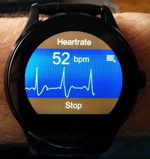 smartwatch k88h monitoring cardiaque
