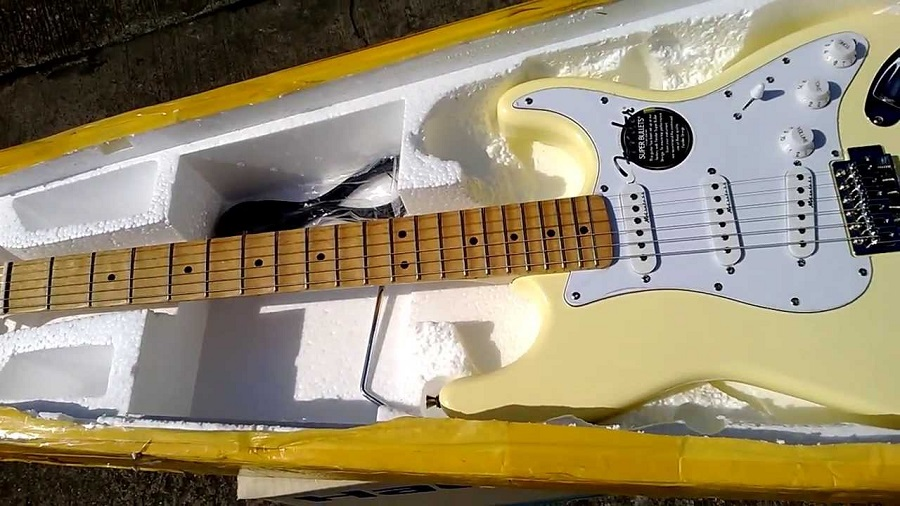 guitar fender dans boite en bois aliexpress