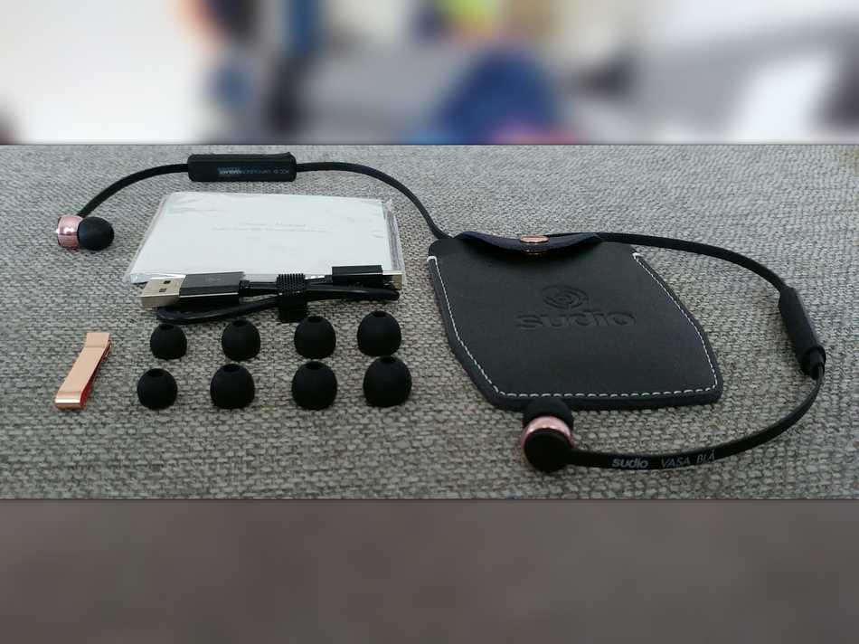 Sudio Vasa BLA Avis-express - Déballage écouteur accessoires