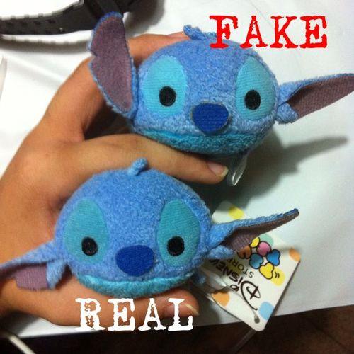 Tsum tsum stitch vrai et fausse