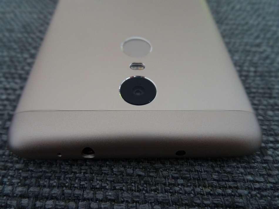 xiaomi redmi note 3 pro capteur photo et tranche superieure