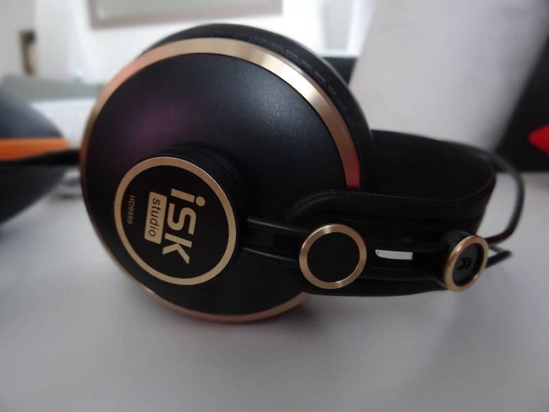 ISK HD9999 - design du casque - gearbest et avis-express