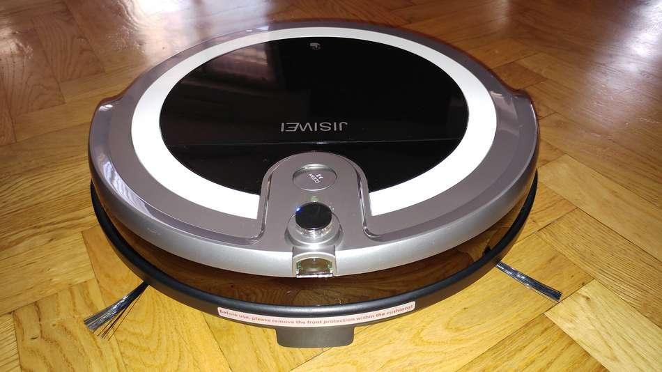 jisiwei-i3-aspirateur-robot-lave-et-aspire-vue-devant