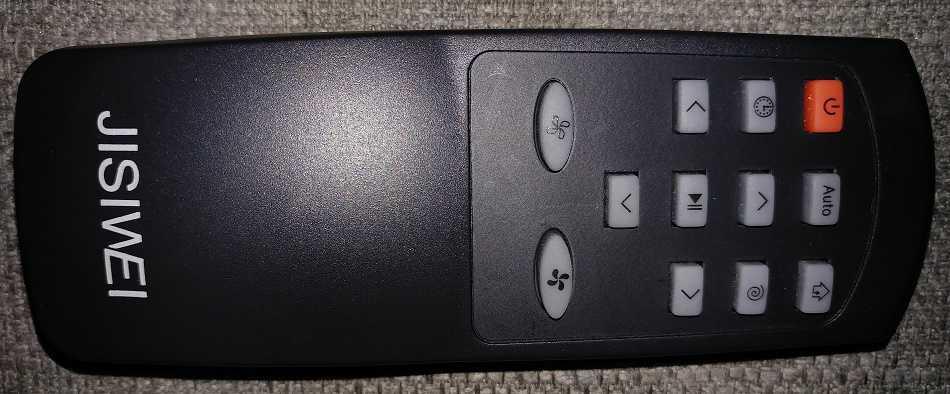 Jisiwei i3 remote control