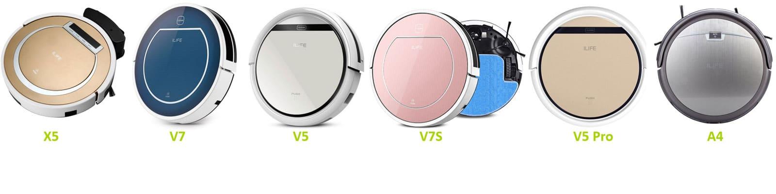 comparatif des aspirateurs robots pas cher de la gamme ilife. Black Bedroom Furniture Sets. Home Design Ideas