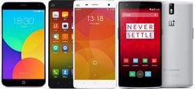 Comparatif des smartphones chinois d'entrée de gamme à moins de 100 euros