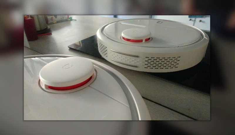 xiaomi mi robot vacuum test - photo de présentation de l'aspirateur robot - Avis-Express