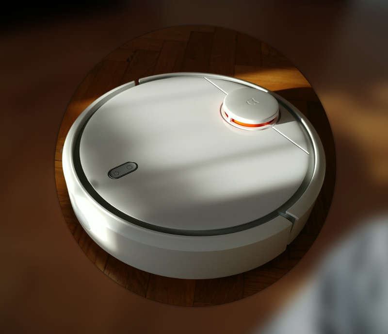 Test Xiaomi Mi Robot - view above - Avis-Express