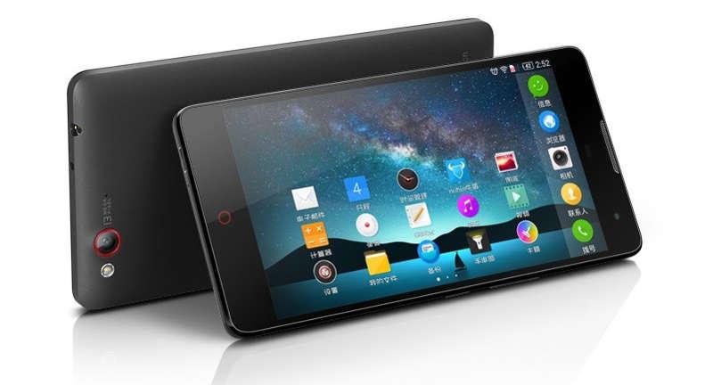 ZTE-Nubia-Z7 smartphone pas cher 2017