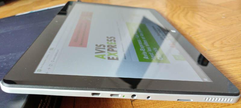 Jumper EZpad 6 - port usb hdmi jack connector