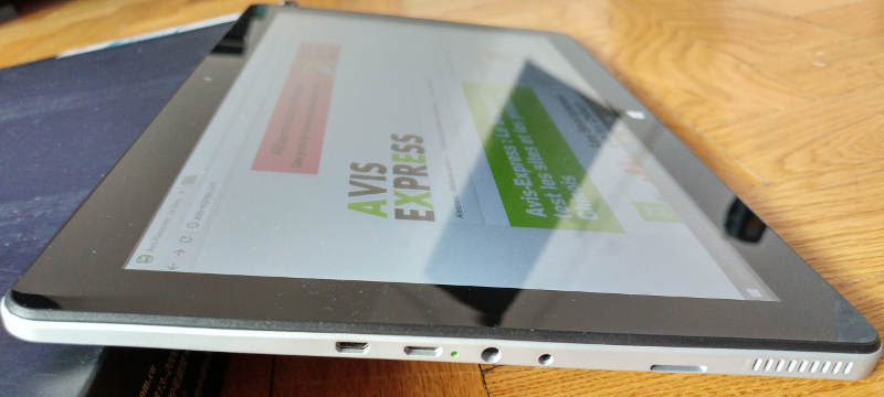 Jumper EZpad 6 - connectivité port usb jack hdmi