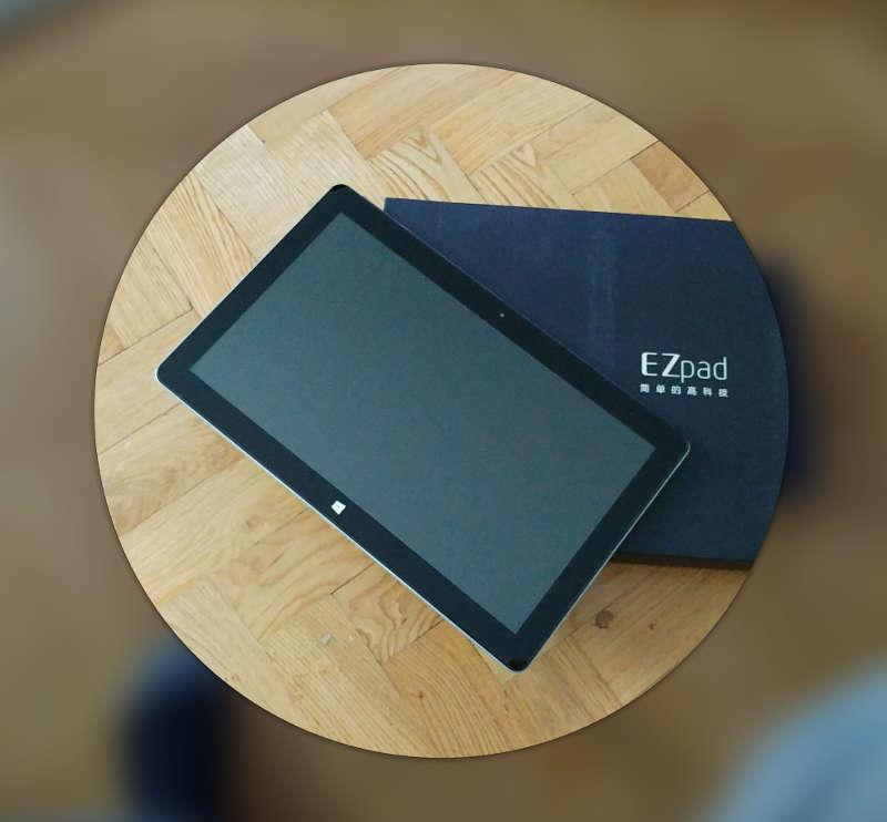 Jumper EZpad 6 - tablette et boite - avis-express