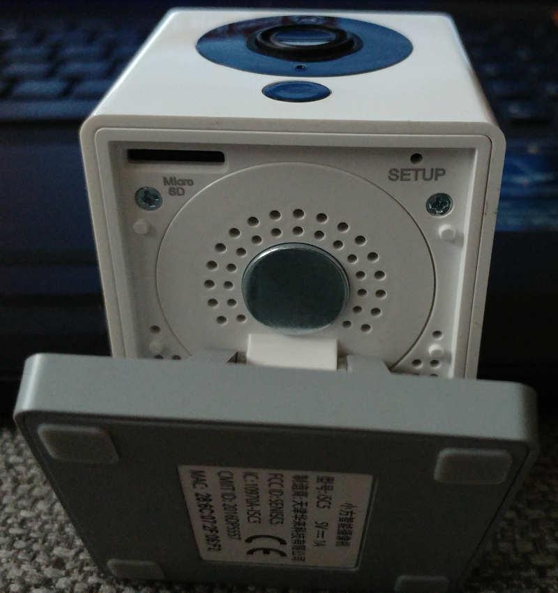 Original Xiaomi Smart 1080P WiFi IP Camera - haut parleur enceinte setup micro sd - avis-express