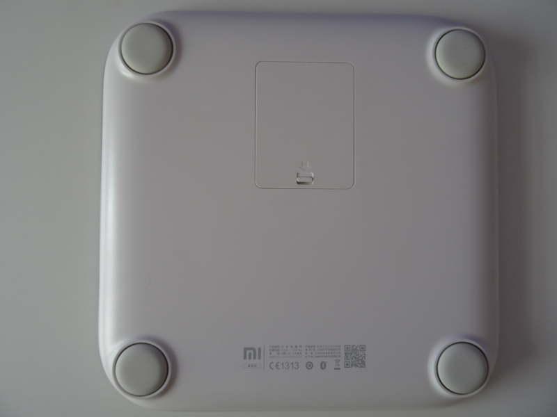 Xiaomi Mi Smart Scale - vue du dessous