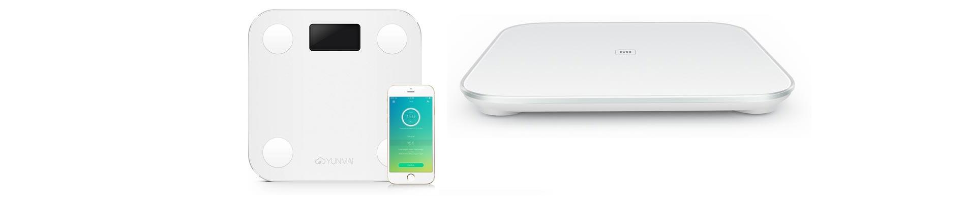 comparatif des balances connect e yunmai et xiaomi mi smart scale. Black Bedroom Furniture Sets. Home Design Ideas