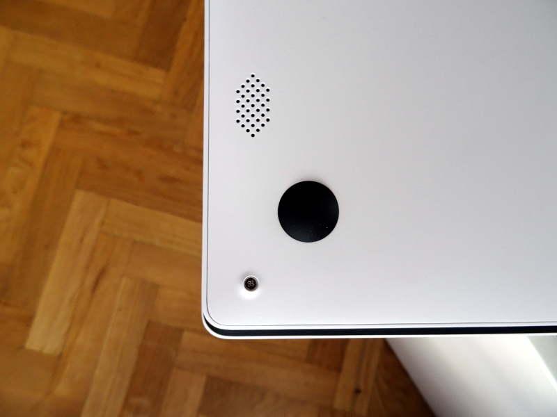 Test Chuwi LapBook - enceintes - par avis-express