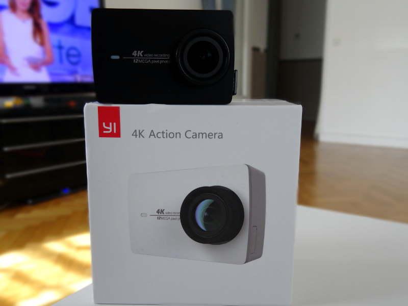 Test Xiaomi Yi Cam 4K - Boite et caméra