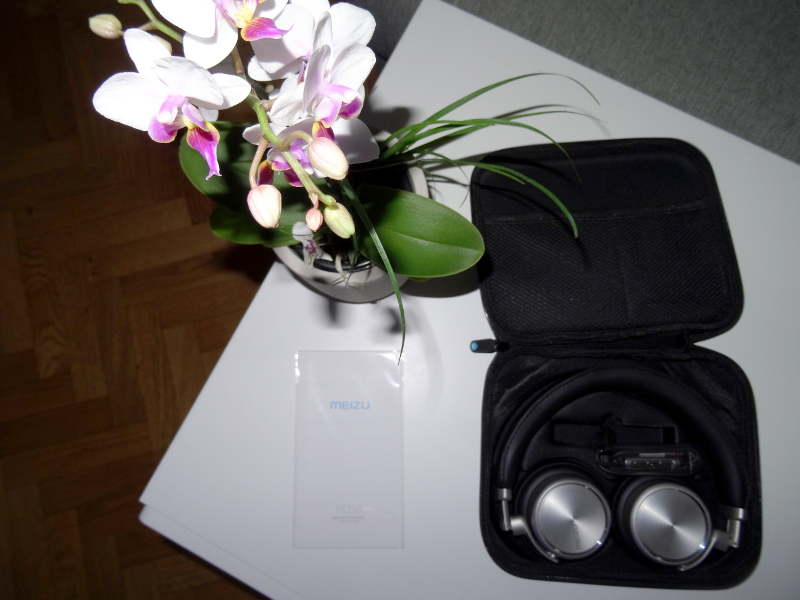Test casque Meizu HD50 - casque dans sa boite