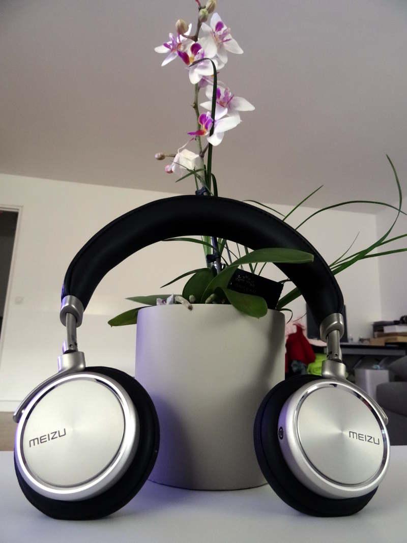 Test casque Meizu HD50 - casque et écouteurs au design très beau