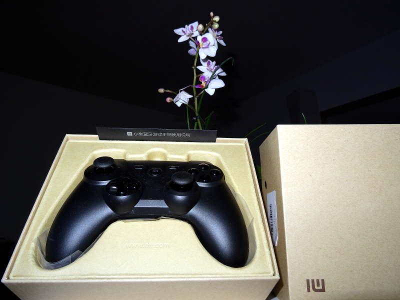 Test manette Xiaomi GamePad - Dans sa boite - déballage