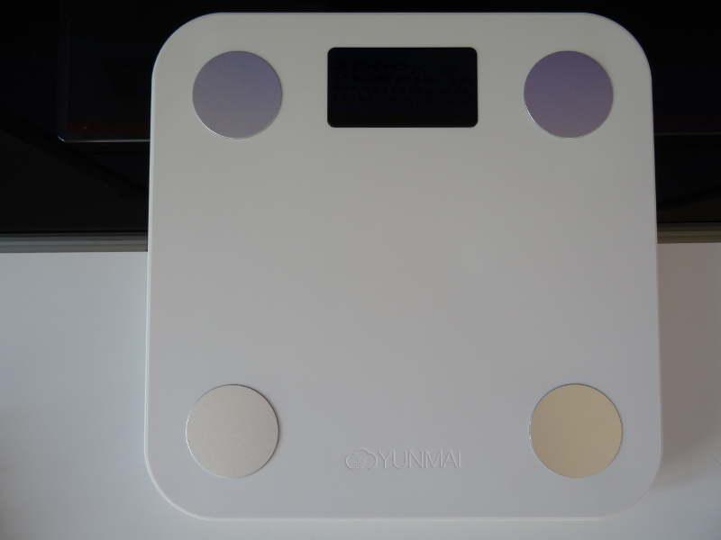 Yunmai Mini Smart Fat Scale - design