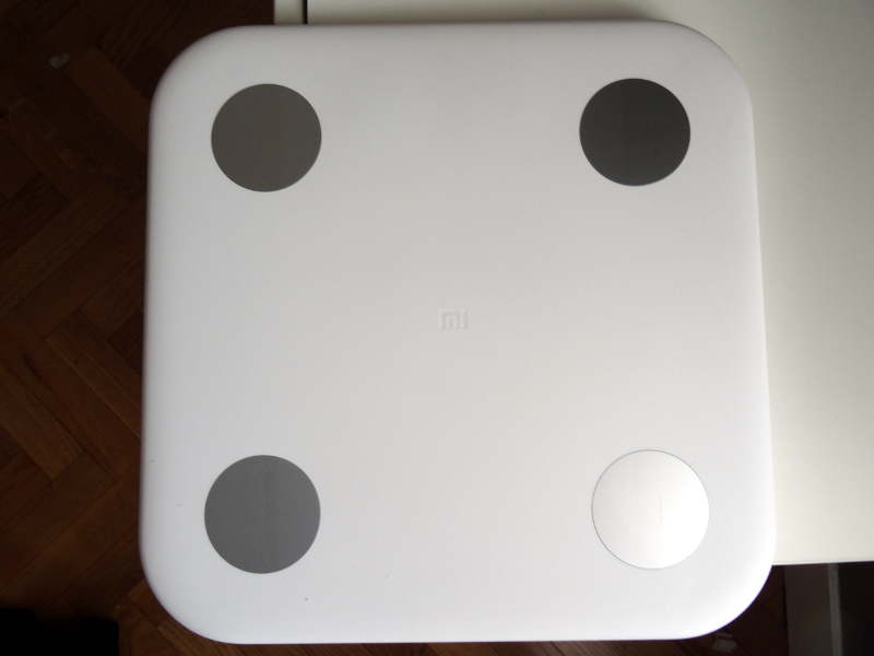 Balance xiaomi bluetooth 4.0 smart scale - design