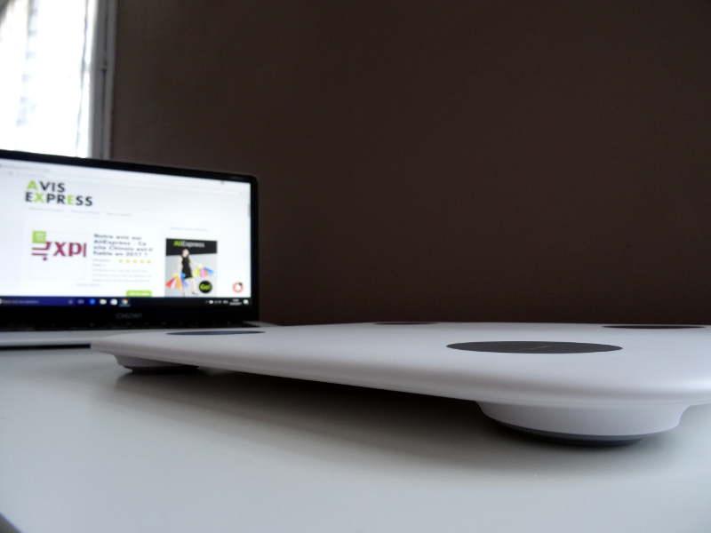 Balance xiaomi bluetooth 4.0 smart scale - pèse personne ultra fin