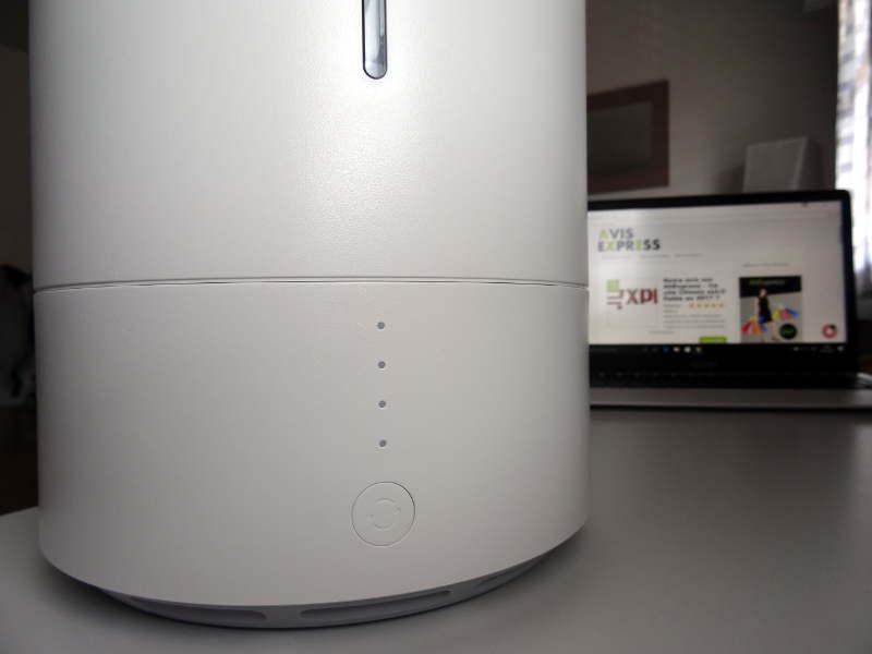Xiaomi CJJSQ01ZM 3.5L Smart Ultrasonic humidificateur d'air - bouton d'allumage