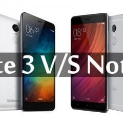 Xiaomi Redmi Note 3 pro VS Redmi Note 4X