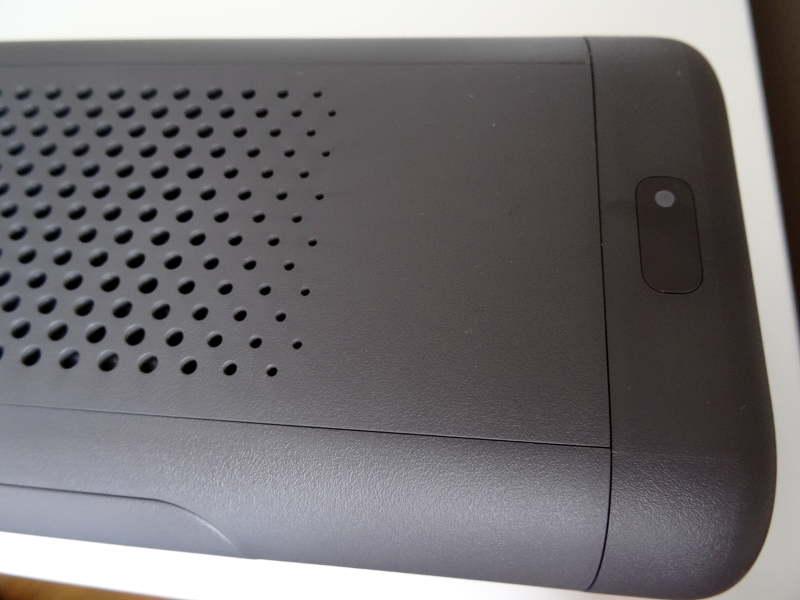 Xiaomi car air cleaner - bouton d'allumage