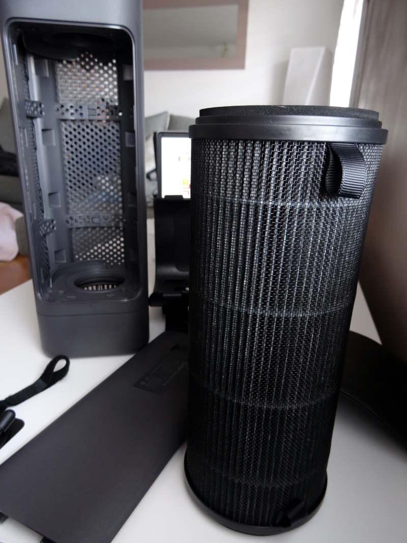 Xiaomi car air cleaner - filtre
