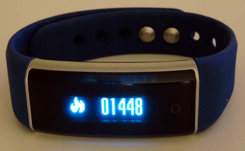smartband Zeblaze ZeBand BLE 4.0 - calories