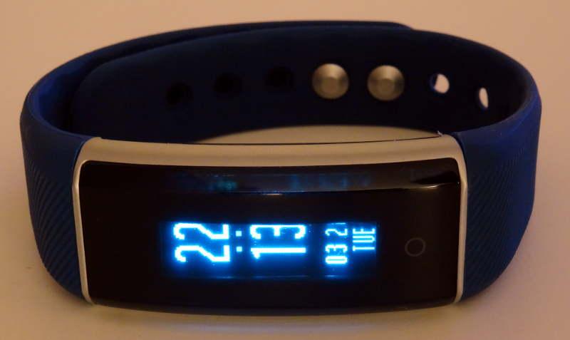 smartband Zeblaze ZeBand BLE 4.0 - heure