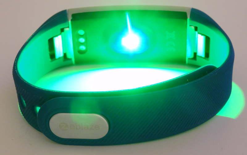 smartband Zeblaze ZeBand BLE 4.0 - lumière verte moniteur cardiaque