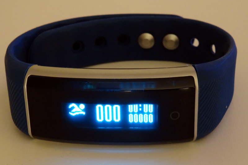 smartband Zeblaze ZeBand BLE 4.0 - nombre de brasse