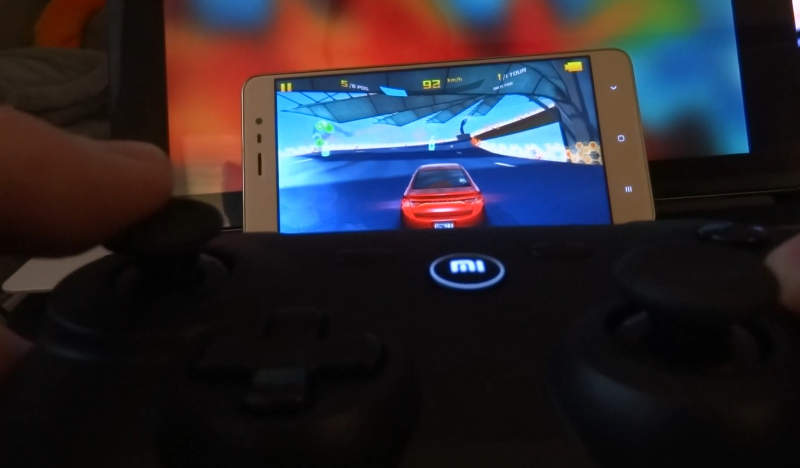 test manette xiaomi gamepad jeux sous android redmi note 3 pro
