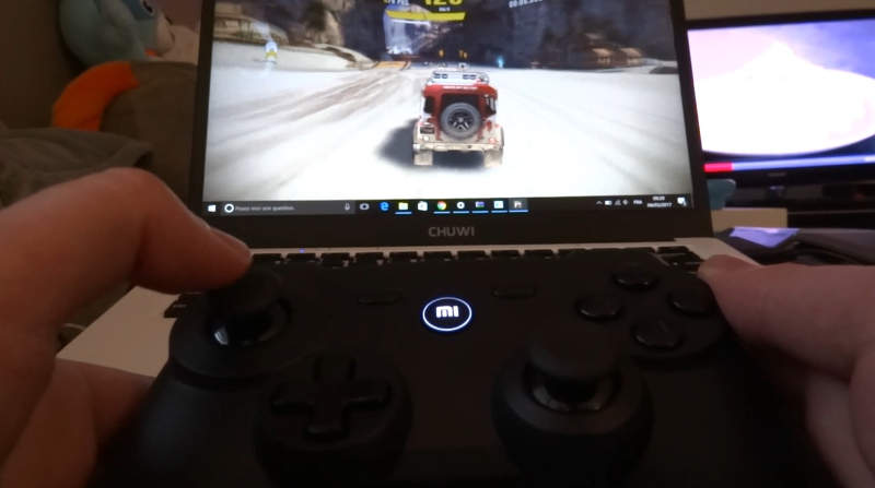 test manette xiaomi gamepad jeux sous windows 10