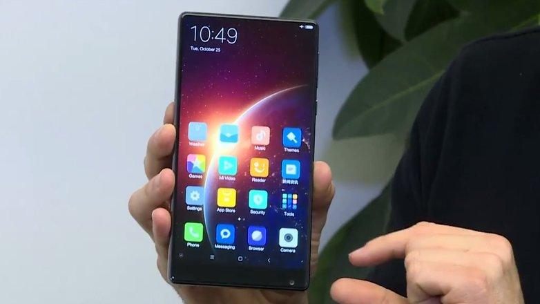 Xiaomi-mi-mix-screen surface
