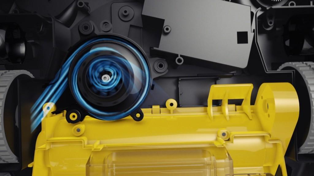 Ilife A6 - moteur aspiration