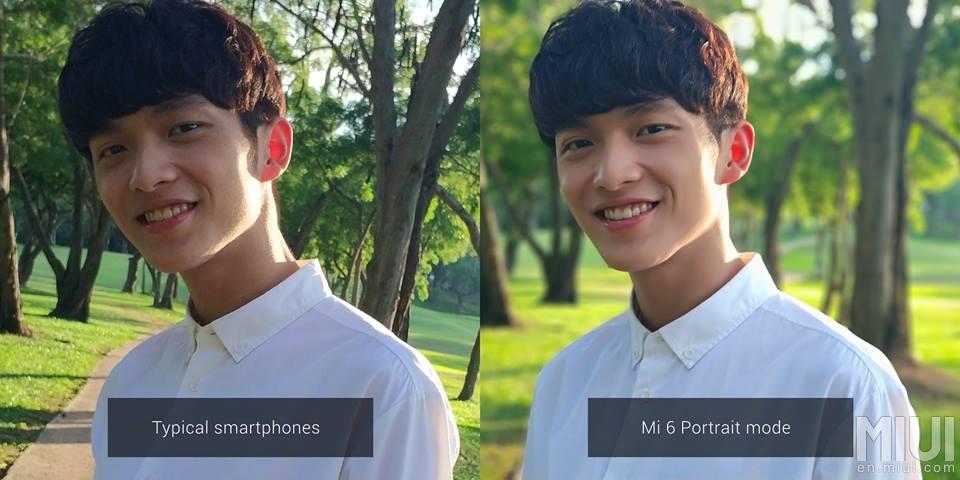mode portrait Xiaomi-Mi6-flou profondeur
